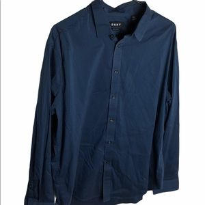 DKNY Mens Burton Down Shirt